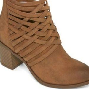 Arizona - Brown leather  booties
